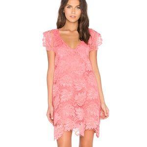 BB DAKOTA | Jaqueline Dress in Coral Small